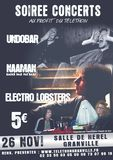 Affiche Undobar Naaman Electro Lobsters