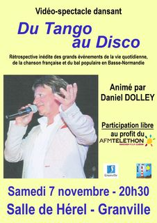 video spectacle dansant tango disco daniel dolley